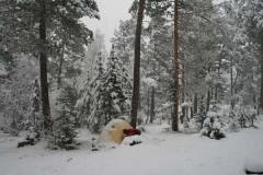 зима на Джантуганской поляне