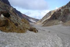 ледник вулкана Мутновский