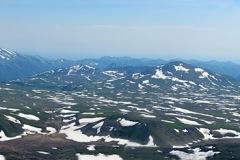 панорама с вулкана Горелый с 1829м.