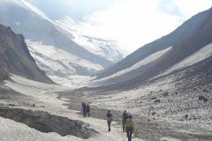 путь в кратер Мутновского