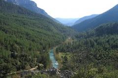 Река Манавгат выше моста