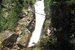 водопад га р.Серебрянка