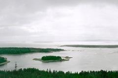 Кандалакшский залив, панорама