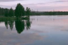 Ночь на Иовском водохранилище