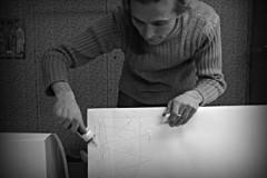 Для облегчения работы гондолу делим на три части: нос, корма, палуба.