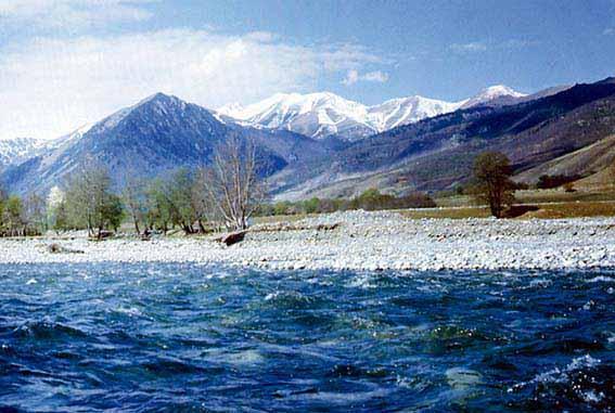 Отчет водном путешествии по рекам Теберда, Кубань, Кавказ, 1994, техописание