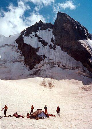 Фотоальбом о горном походе по Кавказу (перевал Кашкаташ - траверс вершины Вольная Испания - перевал Койавганауш), 2000