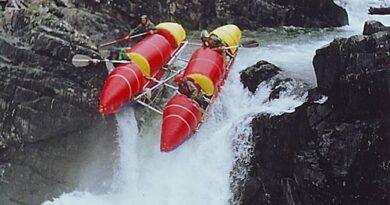 река Онот, Восточный Саян, июль 2004