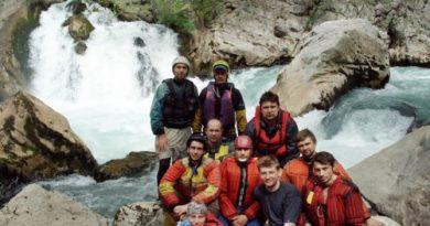 Письмо другу о чудесном походе на реку Манавгат (Турция),  2005