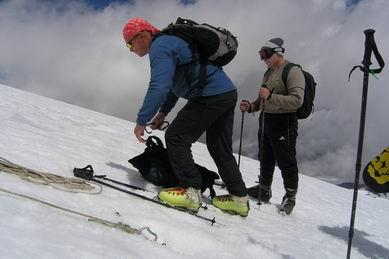 Описание восхождения на гору Эльбрус, Кавказ