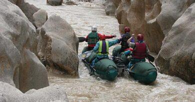 Фотоальбом о прохождении реки Гексу (Турция) апрель 2006 года