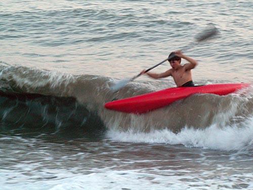 Тренировка на море