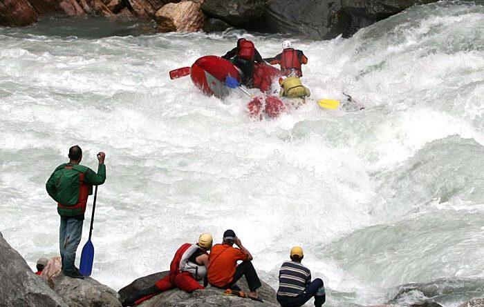 Фотоальбом о сплаве по  реке Сатледж (Индийские Гималаи) октябрь 2007