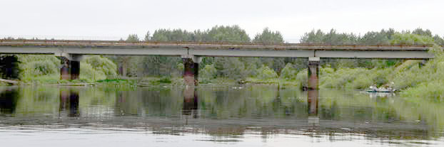 бетонный мост у Заводской Слободы.