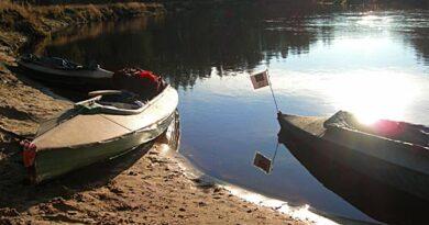 Фотоальбом о сплаве по реке  Пра, ноябрь 2008