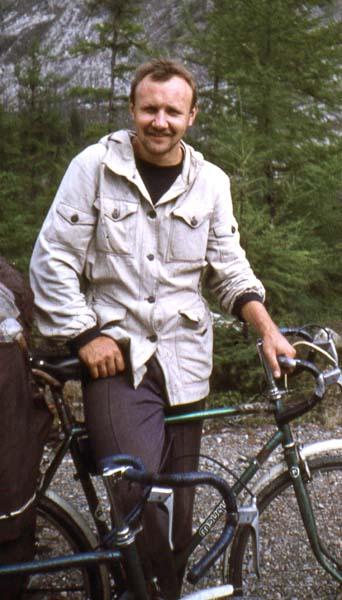 Первый мастер спорта т/к «Альтаир» по велотуризму - Александр Альбертович Юмашев.