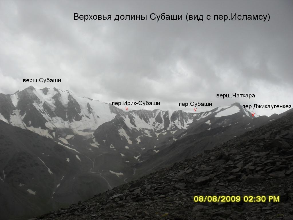 верховьях р.Субаши