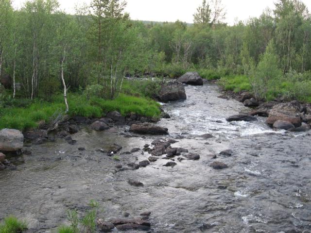 Фото 01 – р. Ура (вид с ж/д моста пл. 54 км)