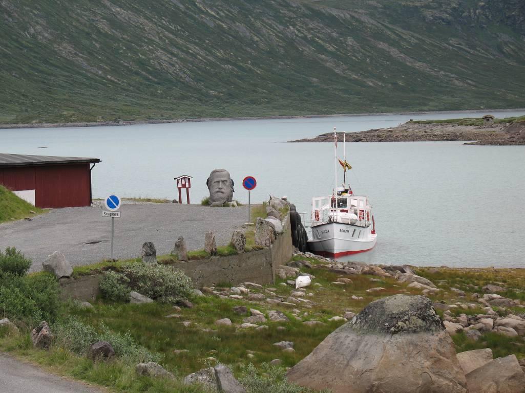 Пристань в Fondsbu.