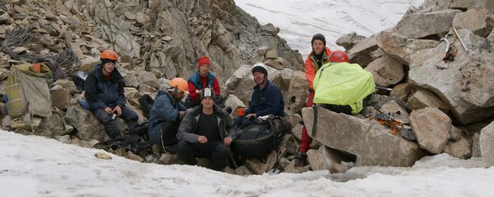 На перевале Урал (2Б,3906м)