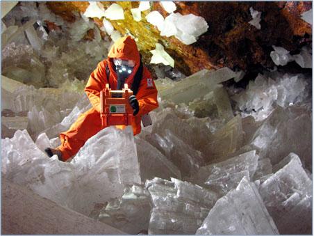 Термокостюм. В пещере как в космосе