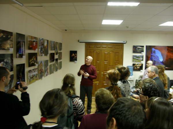 презентация фотовыставки Антона Юшко