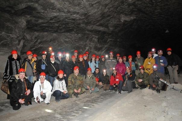 Групповой снимок в Руднике 9-е Января