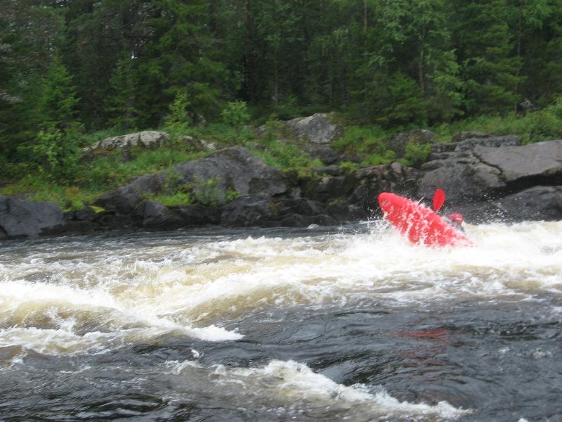 Отчёт о водном туристском походе в районе Кольского полуострова по рекам Тунтсайоки, Тумча