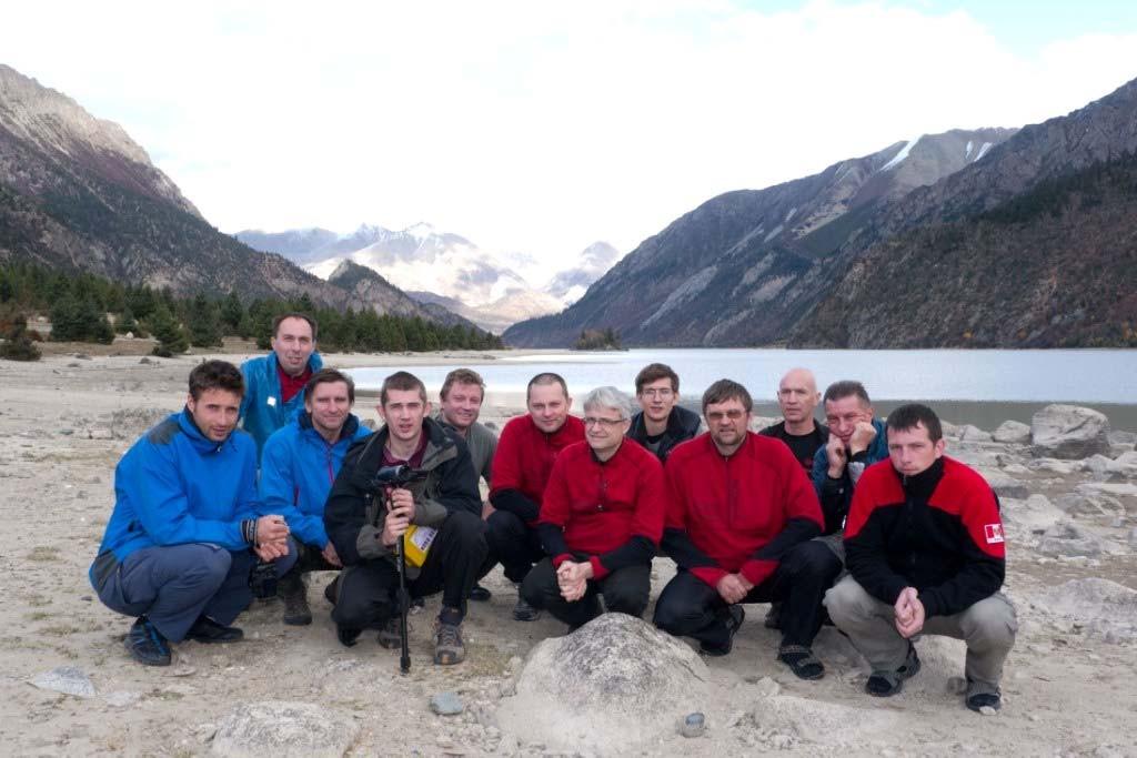 Ф.18 Группа на озере Ranwu