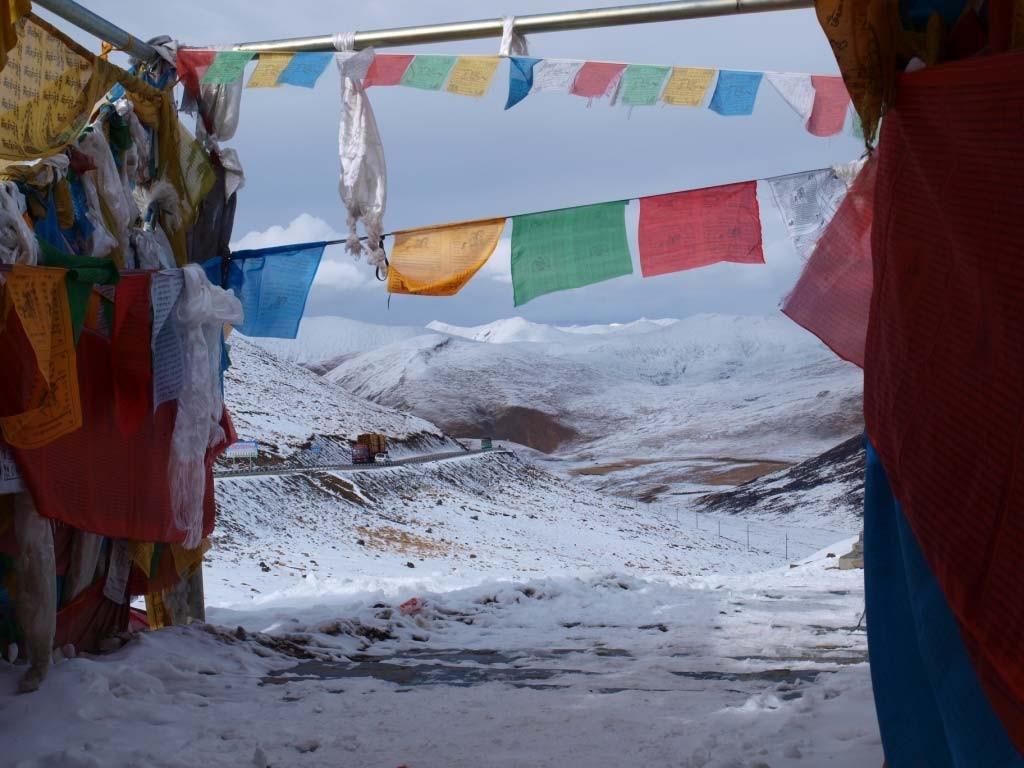 Ф.136 - 137 Зима на перевале.