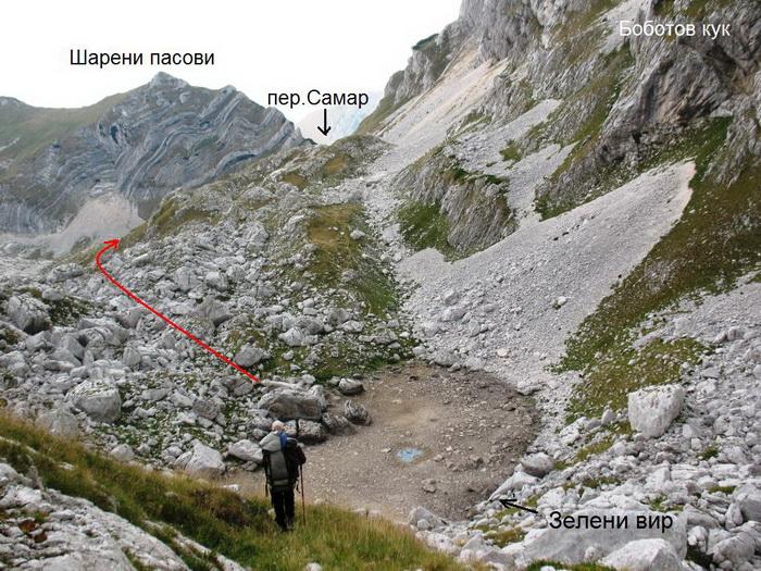 Горный поход 1 к.с. в районе массива Дурмитор (Черногория)