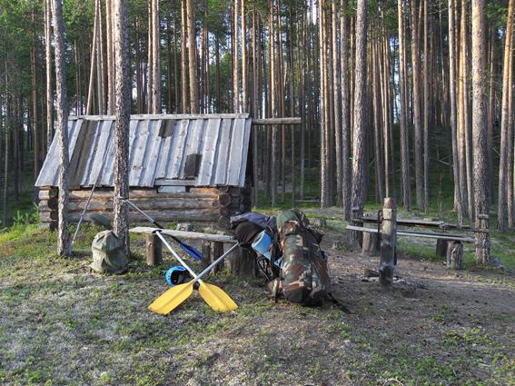 Фото №11 Рыбачья изба на оз.Шульярви