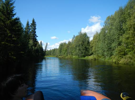 Фото №26 Река Чурож, халява!