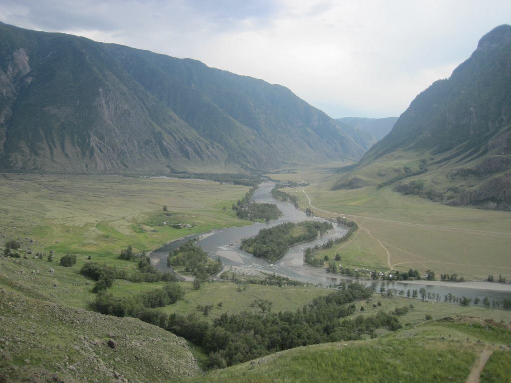 Фото 65 – долина Чулышмана с «Каменных грибов»