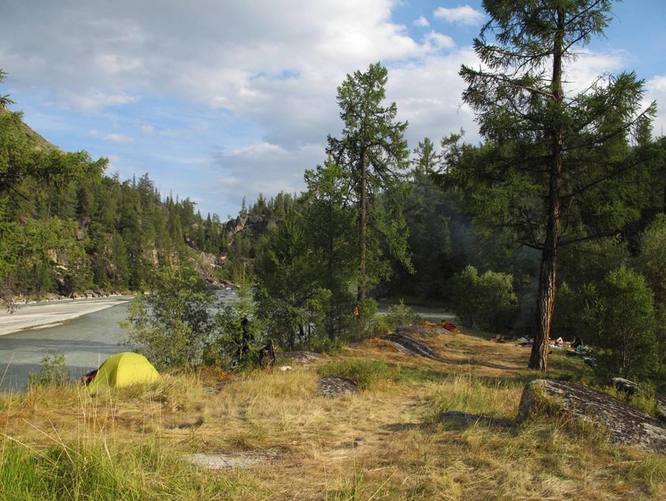 Отчёт о водном походе 5кс по рекам Ак-Алаха, Кара-Алаха (Алтай)