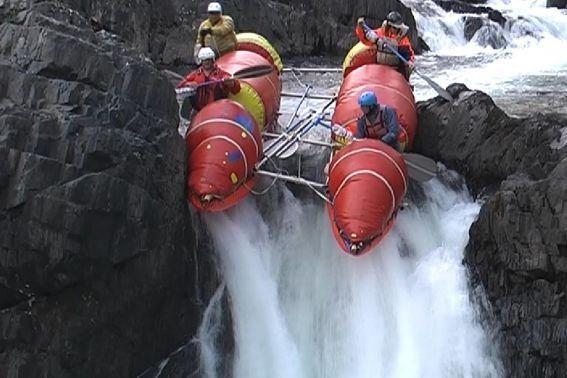 Фото 33. К-2 в препятствии 16 (водопад «Нефрит»).