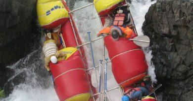 Фото 34. К-2 в препятствии 16 (водопад «Нефрит»).