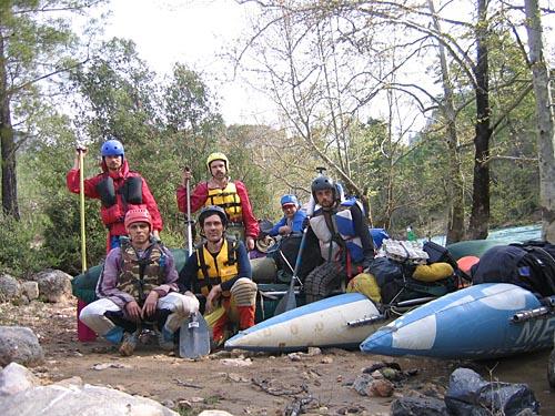 фотоальбом река Манавгат (Турция), весна 2006