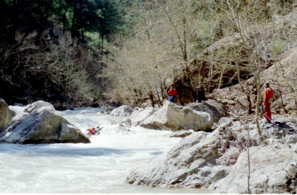 Описание реки Даламан (Турция), апрель 2004