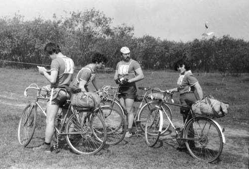 Всегда второй «Водоканал», слева направо: Владимир Улитин, Виктор Редин, Николай Ильичев (капитан), Ольга Артемьева.