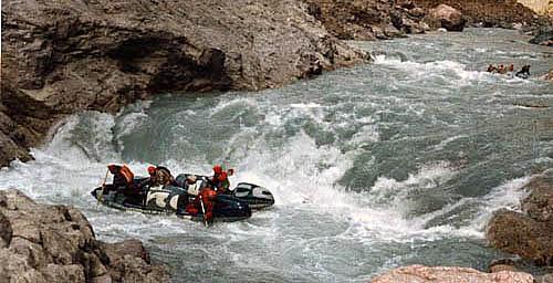 «Сары-Джаз - Желтая весна», река Сары-Джаз, Тянь-Шань, сентябрь 1995, статья