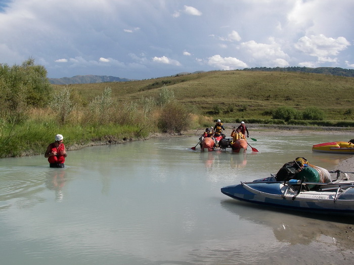 Отчет о водном спортивном походе по рекам Тентек- Лепсы