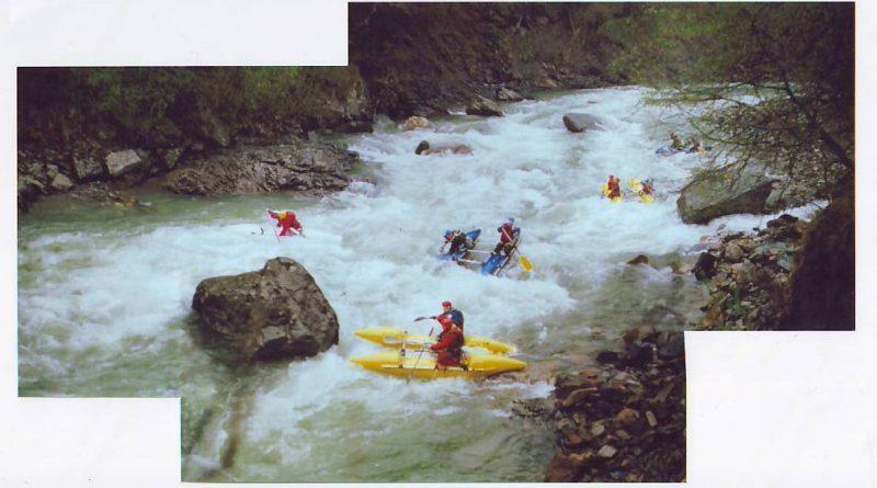 Отчёт о водном походе по реке  Большой Зеленчук, Северный Кавказ,  апрель май