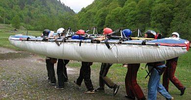 Отчет о водном походе IV категории сложности по  рекам Кубань, Большой Зеленчук, Большая Лаба, май 2008