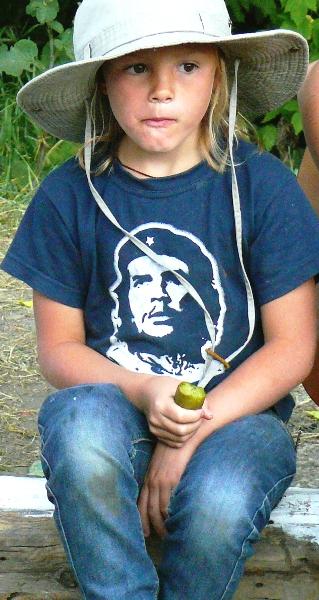 Летний молодежно - студенческий  лагерь на р. Сосна 2010