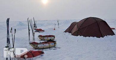 Молодежная экспедиция Лыжня России - Северный Полюс