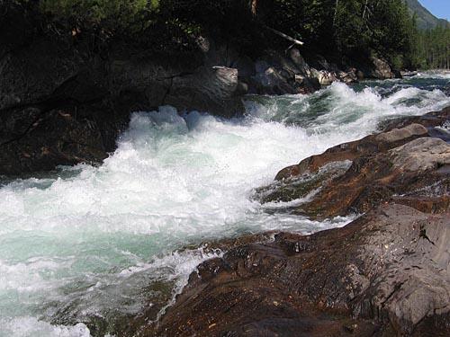 «Встреча с мечтой» река Томпуда, Прибайкалье, август 2006