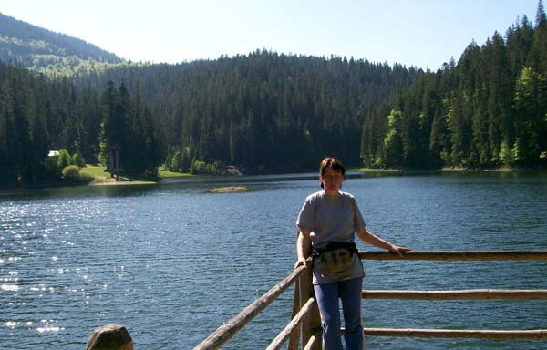 Жемчужина Карпат озеро Синевир.