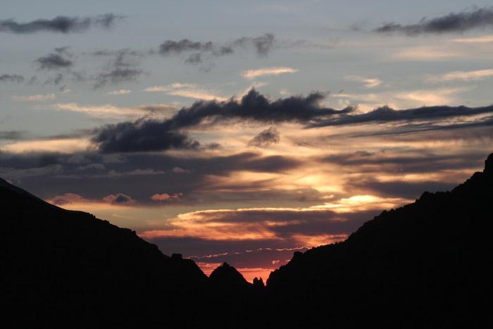 Закат на пер. Молодых