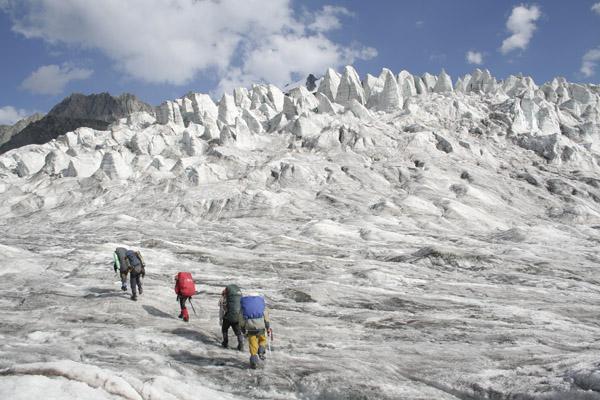 Ледник Талдуринский.